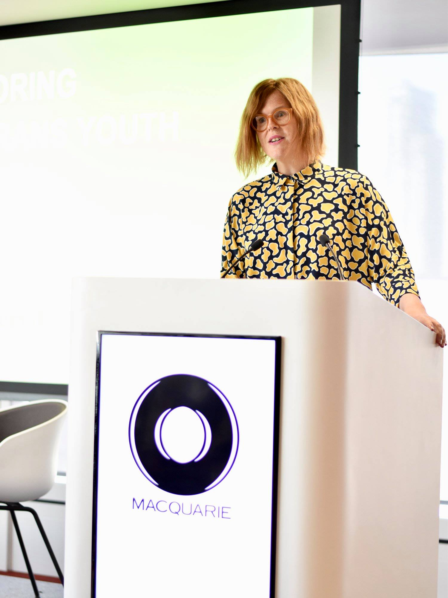 Megan Keys from Gendered Intelligence pitch