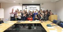 Lightyear Foundation and participants at event