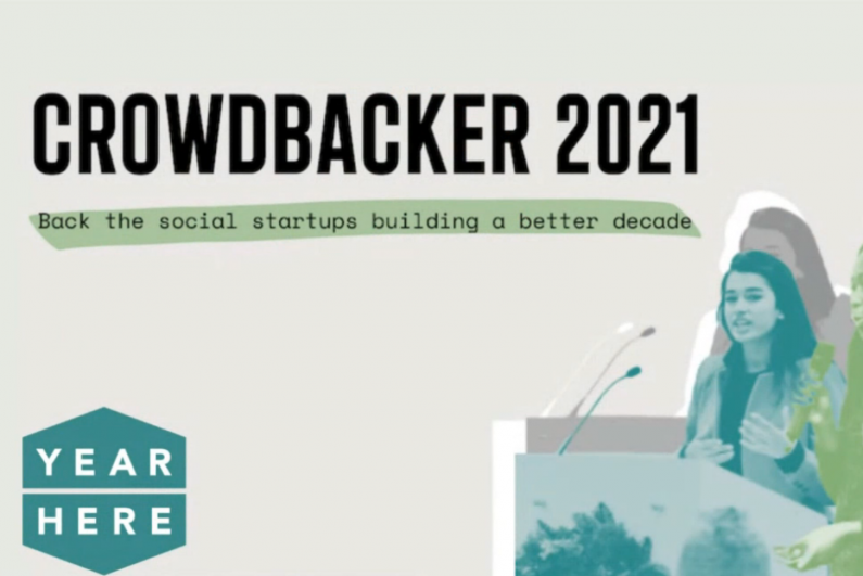 Crowdbacker 2021 promotional banner